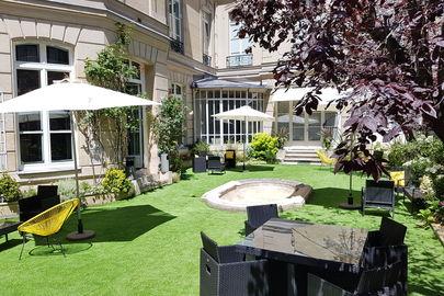 Le Club & son jardin