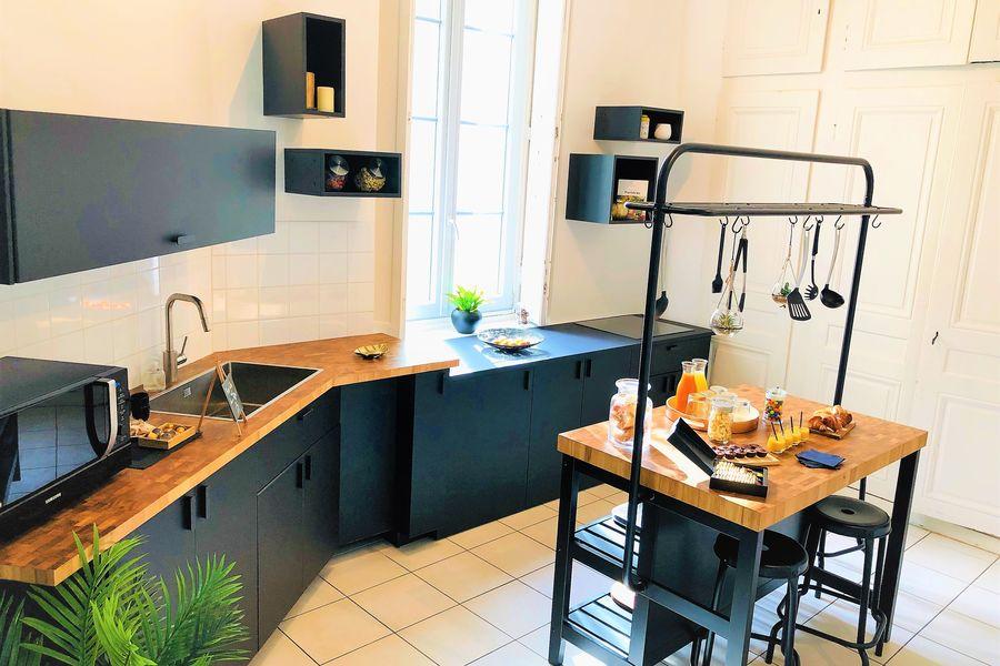 La Rive Lyon Espace cuisine