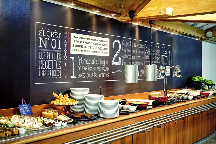 Ibis Lyon Est Bron *** Restaurant