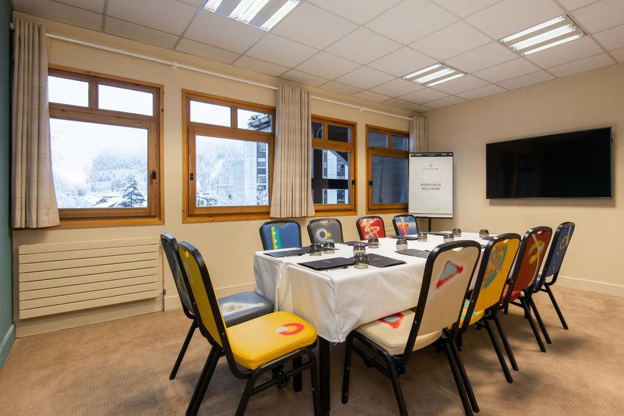 Chalet Hôtel Le Prieuré *** Salle de réunion
