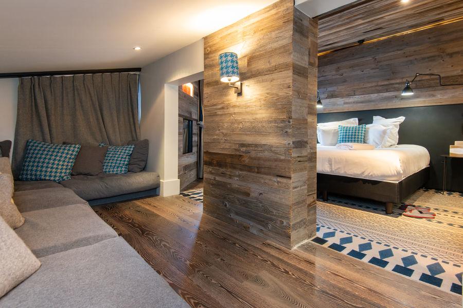 Chalet Hôtel Le Prieuré *** Chambre