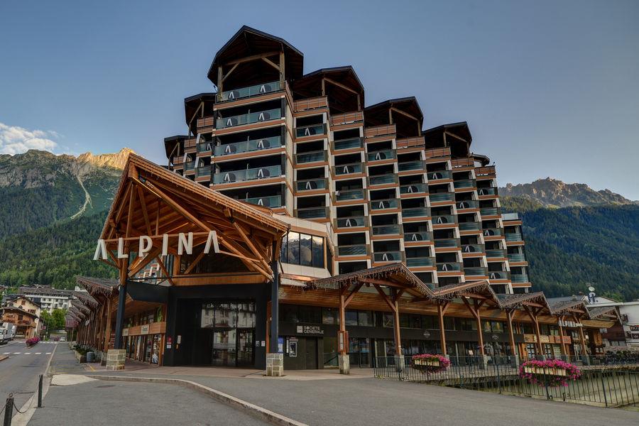 Alpina Eclectic Hôtel **** Façade