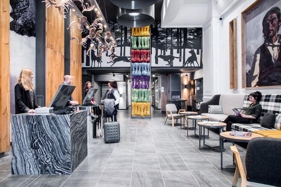 Alpina Eclectic Hôtel **** Réception