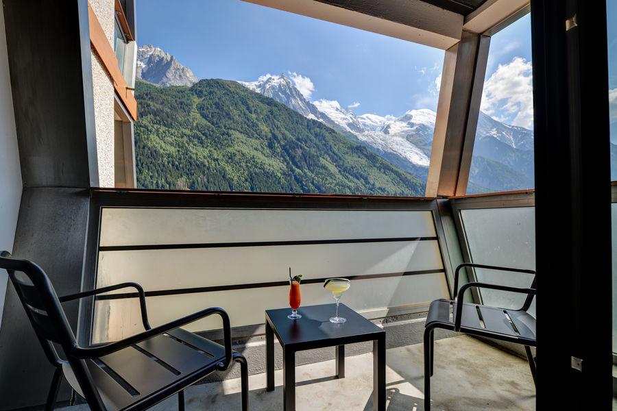 Alpina Eclectic Hôtel **** Balcon