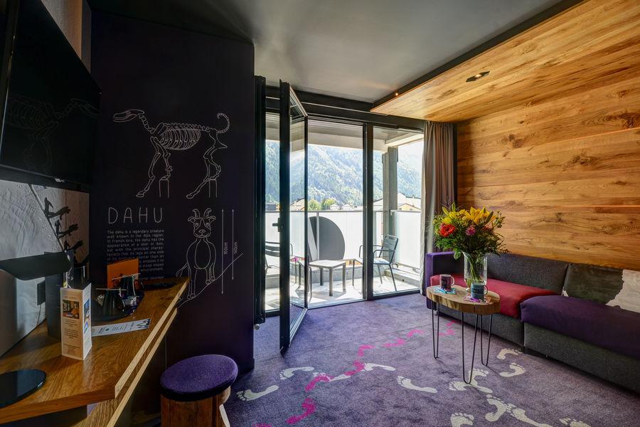 Alpina Eclectic Hôtel **** Chambre