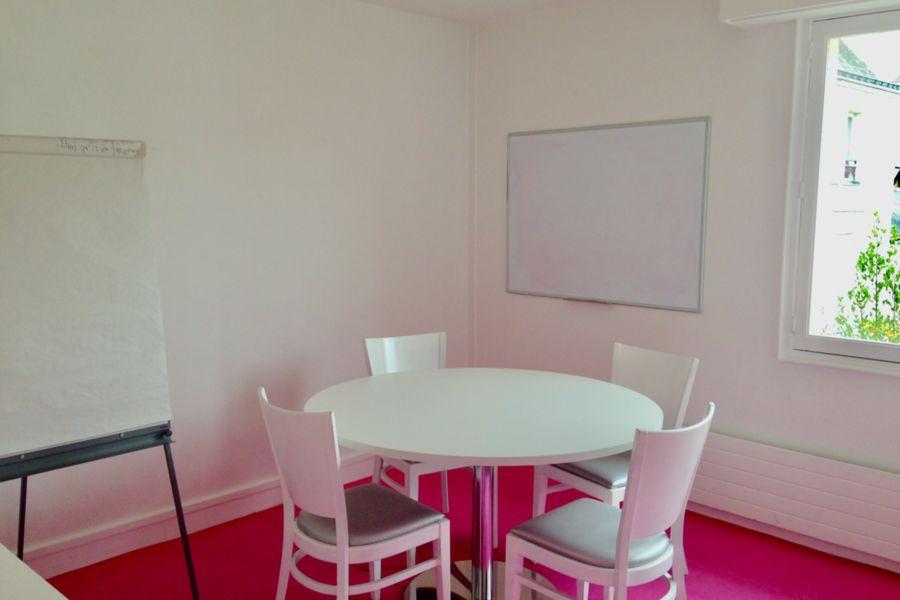 Salons 8ème Sens - Angers Béclard Bureau Rose