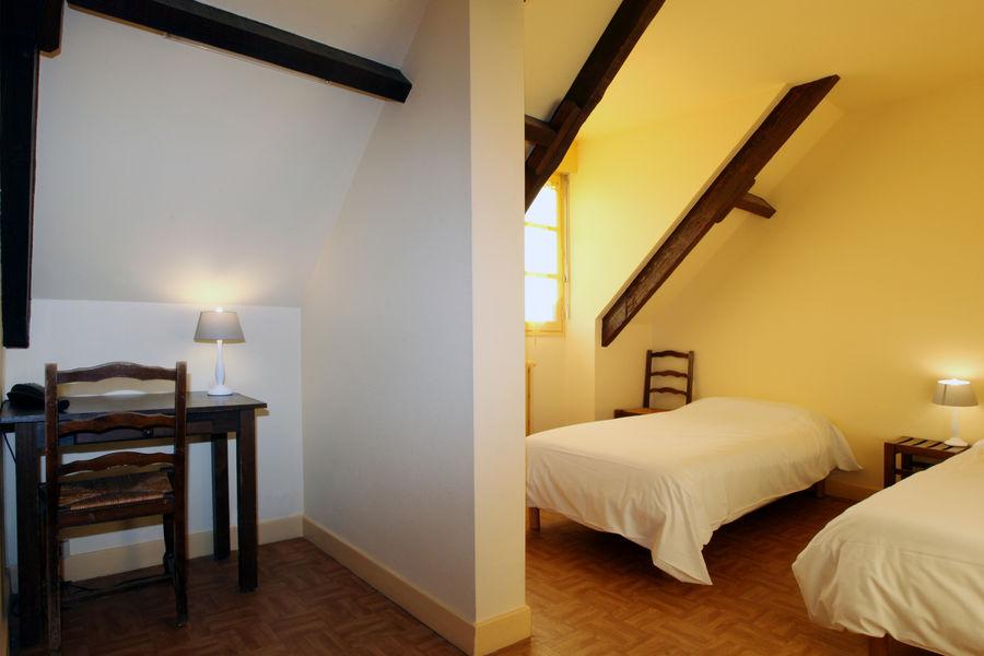 Azureva Sainte Montaine en Sologne *** Chambre twin