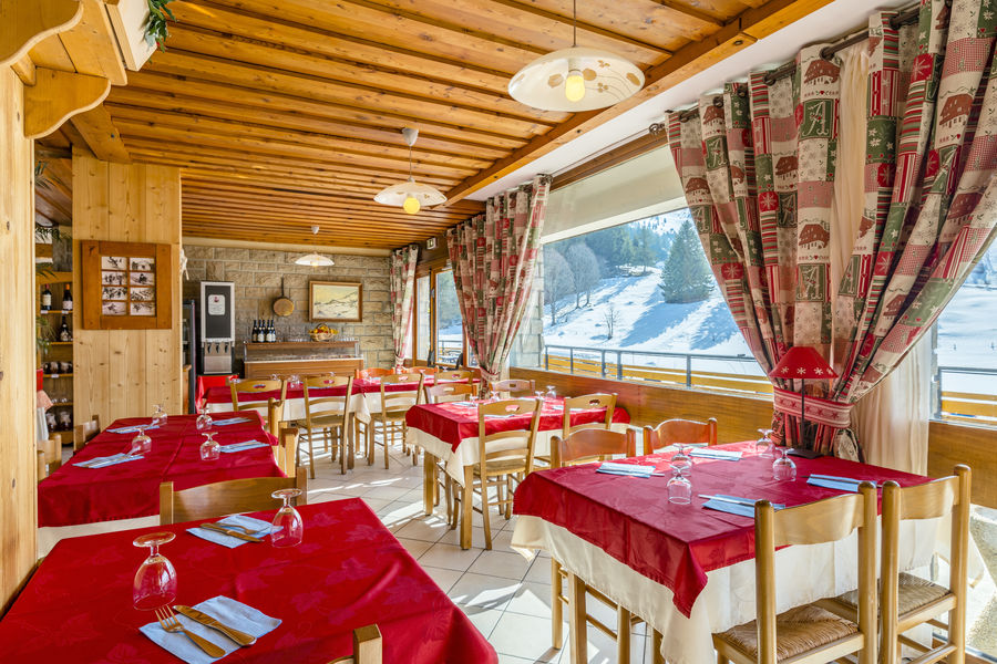 Azureva La Clusaz Les Confins** Restaurant