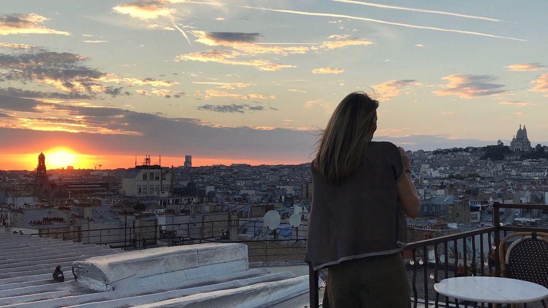 Rooftop Solarium  Vue Paris