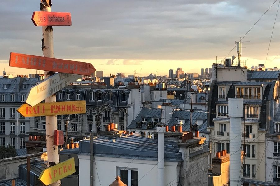 Rooftop Solarium  Vue Rooftop
