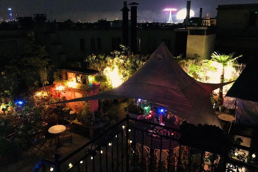 Rooftop Solarium  Rooftop de Nuit