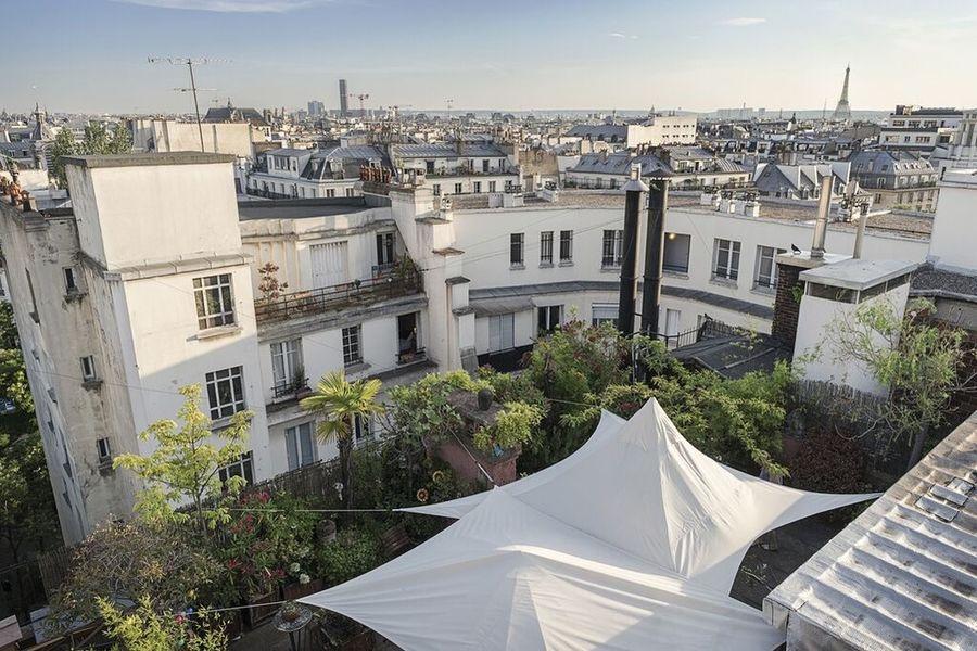 Rooftop Solarium  Terrasse Couverte
