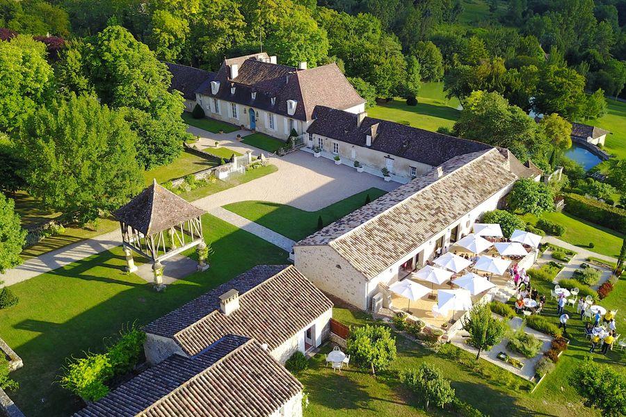 La Chartreuse du Bignac **** Vue aérienne de l'établissement