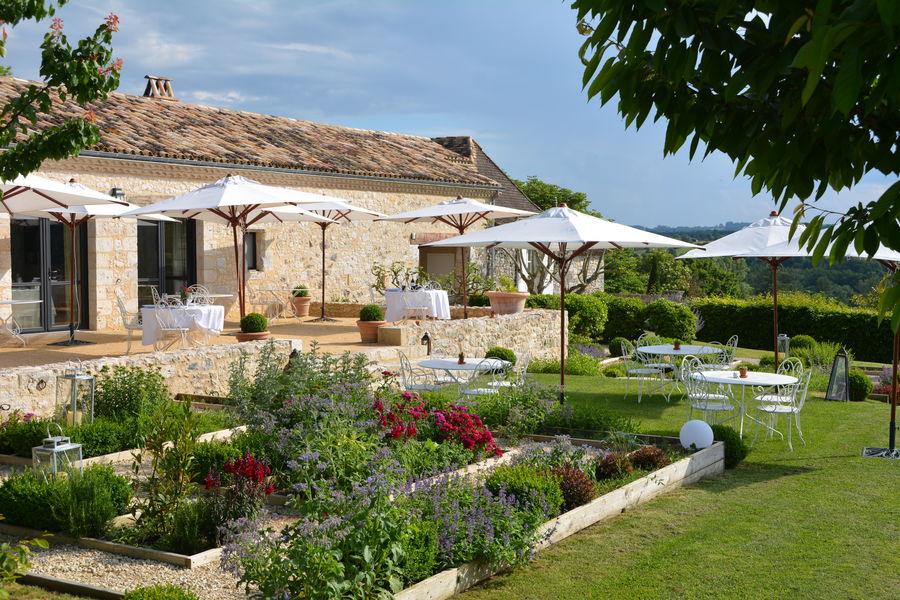 La Chartreuse du Bignac **** Terrasse du restaurant