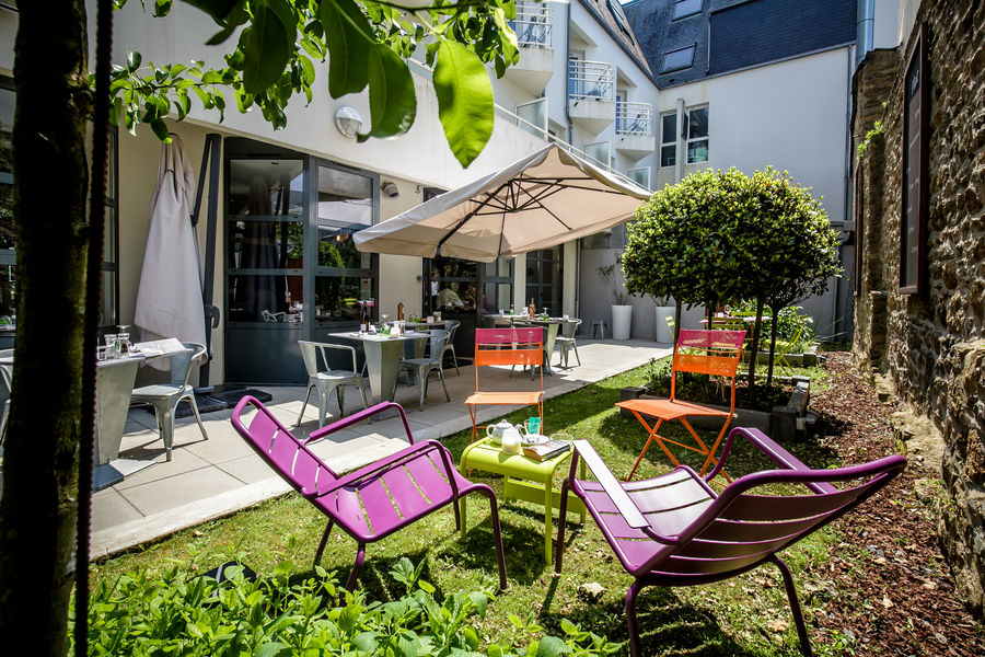 Best Western Plus Vannes Centre-ville **** Patio