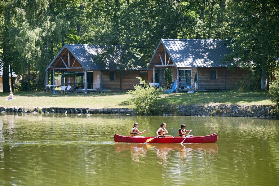 Huttopia Rillé *** Cabane bord de Lac
