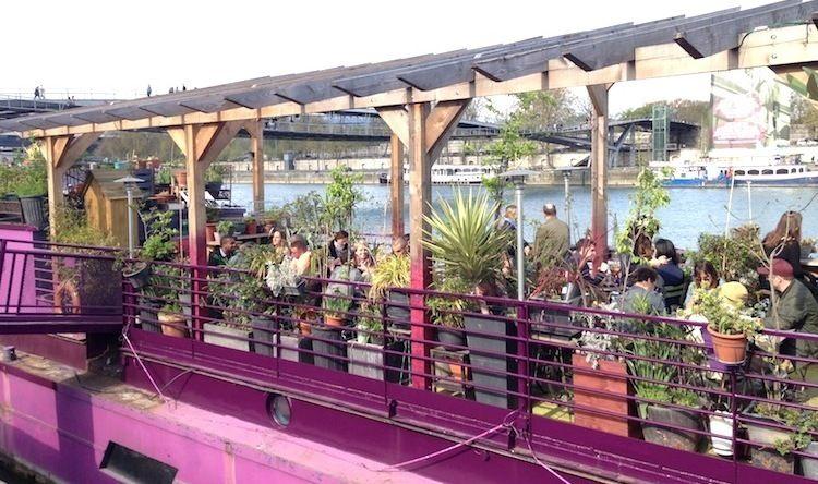 Le Jardin Flottant  Terrasse