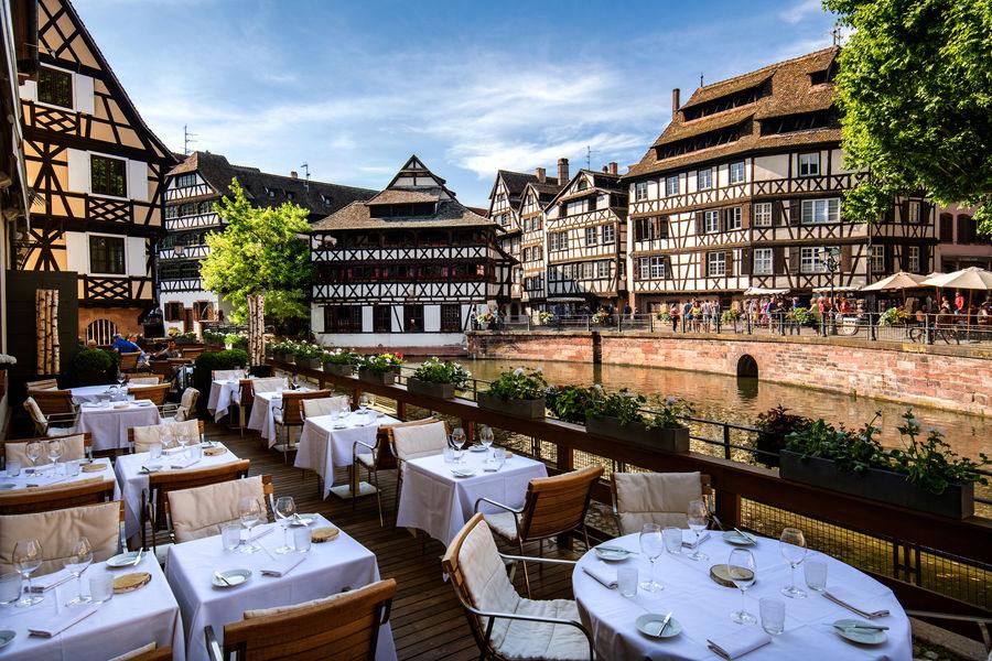 Hôtel & Spa RÉGENT PETITE FRANCE ***** Restauranr