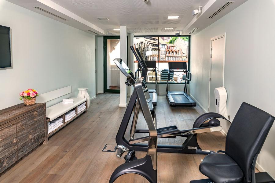 Hôtel & Spa RÉGENT PETITE FRANCE ***** Salle de fitness