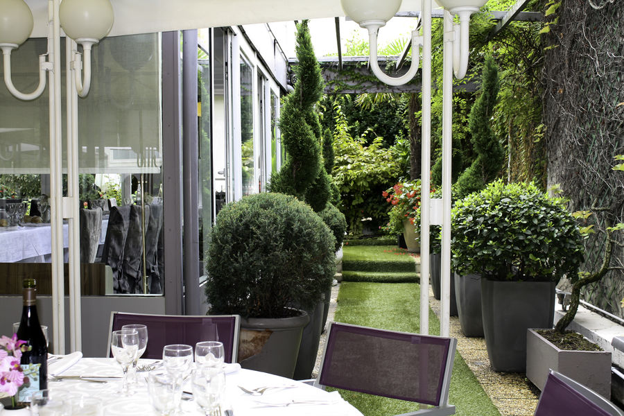 Hôtel Axotel Lyon Perrache *** Terrasse