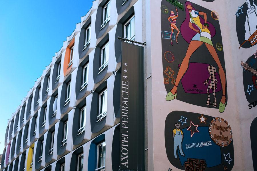 Hôtel Axotel Lyon Perrache *** Façade
