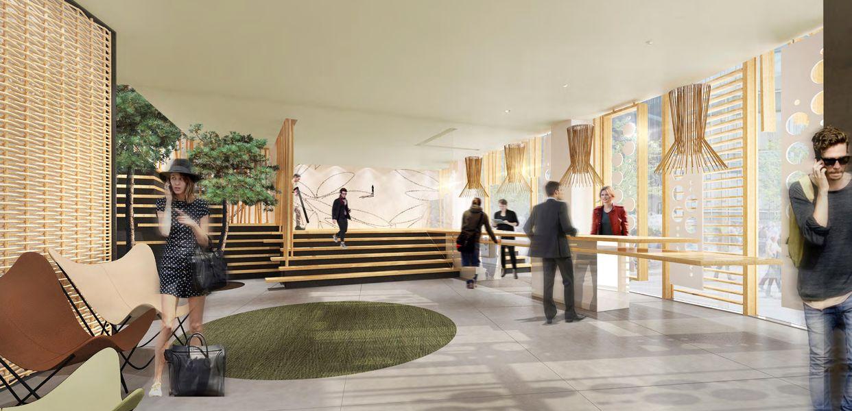 Hôtel Belaroïa Golden Tulip Montpellier Centre Lobby