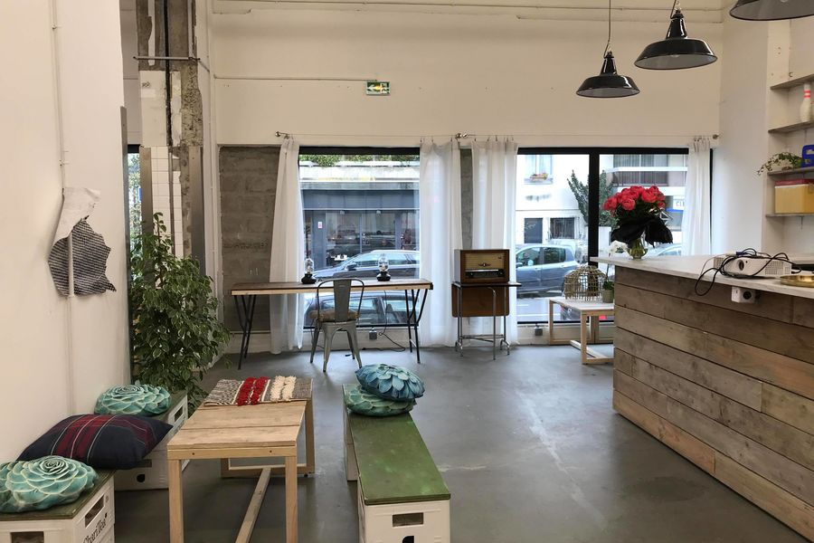 The Sun Project La CANTINE, convialité des pauses, cocktails . Foodlab