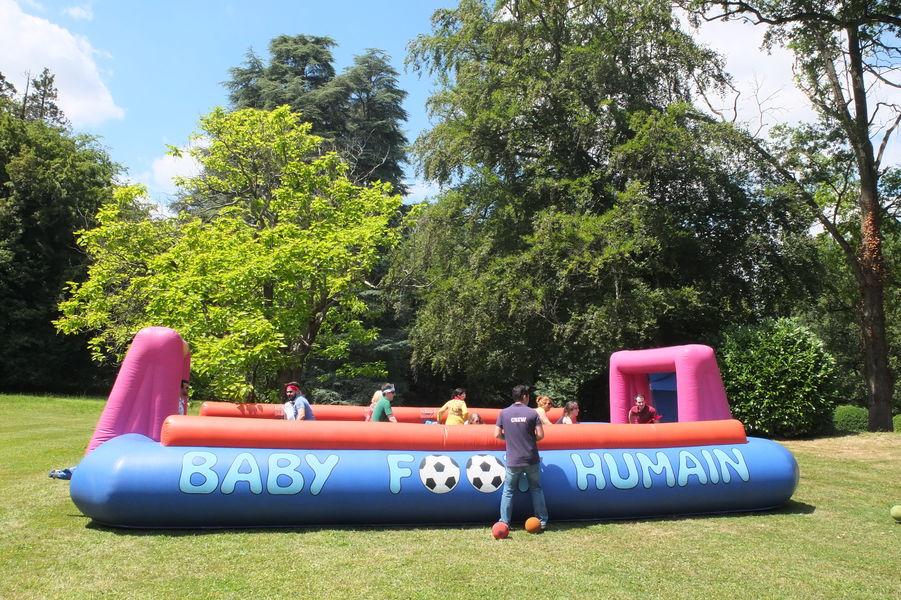 Château de Méridon Activité Baby Foot humain