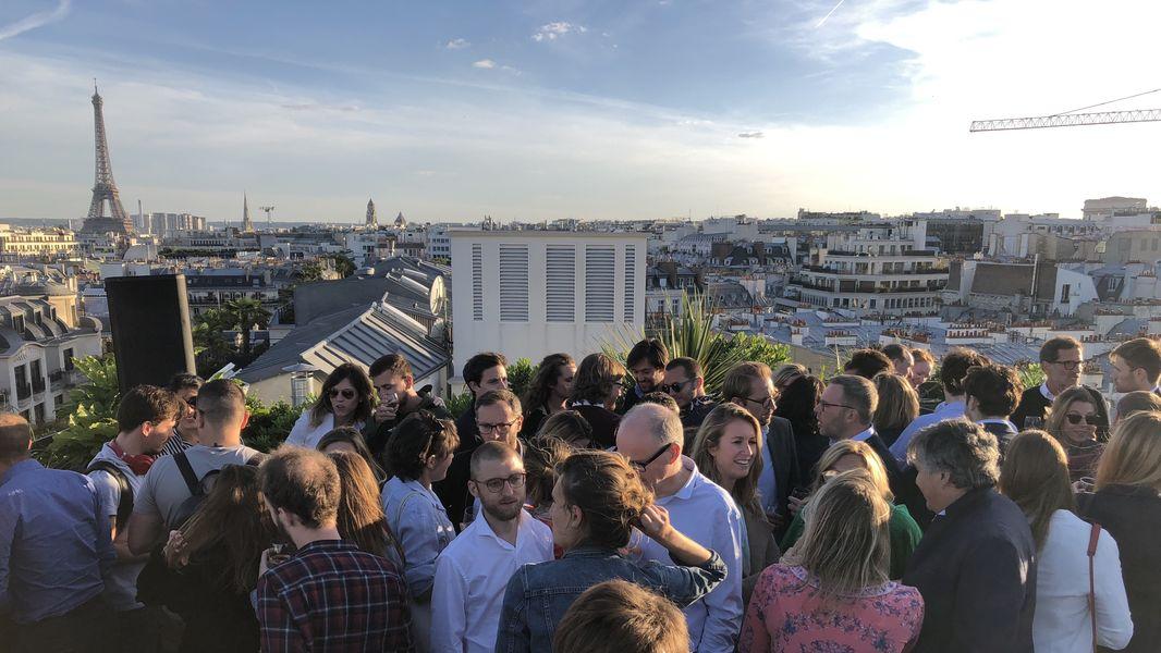 Kwerk Haussmann Rooftop : Soirée