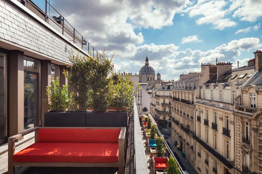 Kwerk Bienfaisance Terrasse 5e étage