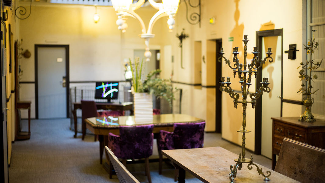 Grand Hôtel D'Orléans *** Patio intérieur