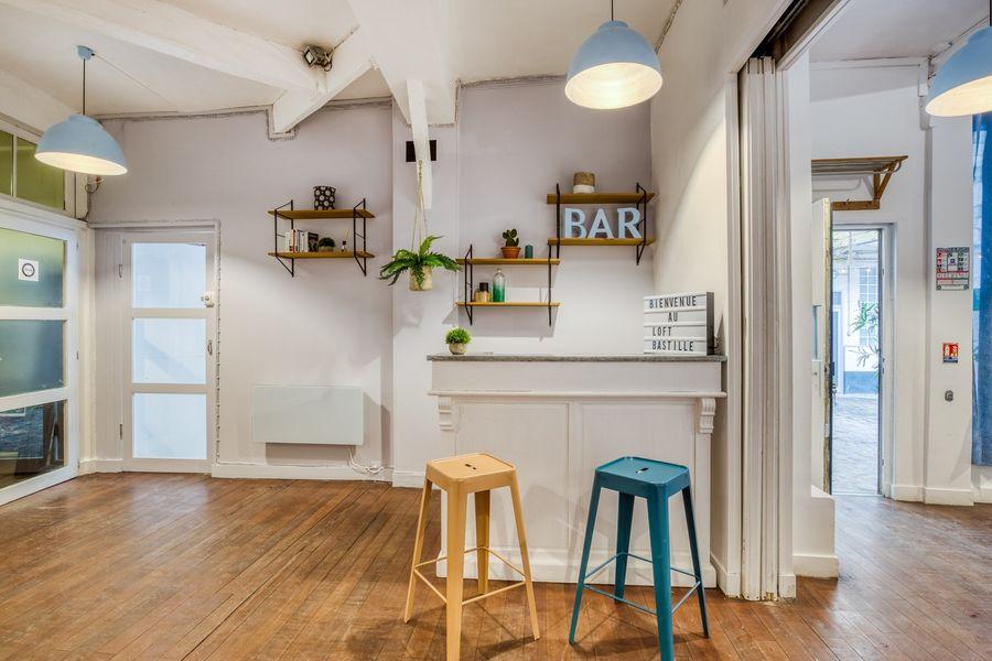 Loft Bastille Bar et lieu de réception