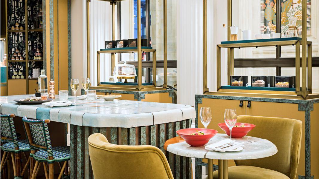 Le Scribe Paris  cafe Scribe