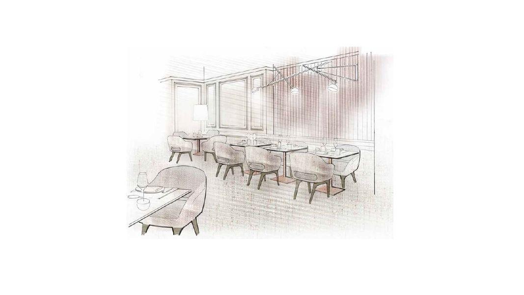 Le Scribe Paris  lounge 1895