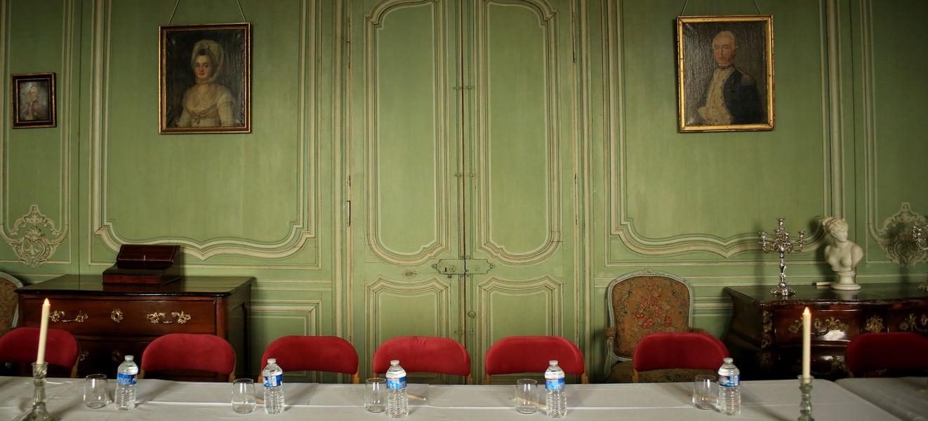 Château de Montmirail Salon classé