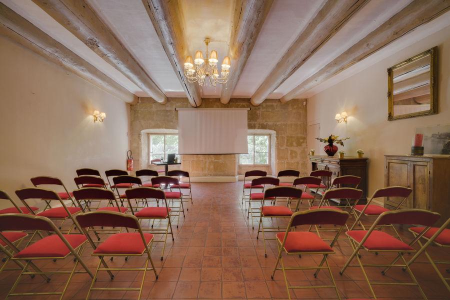 Club du Vieux Port - Salon privés Salon Cheminée