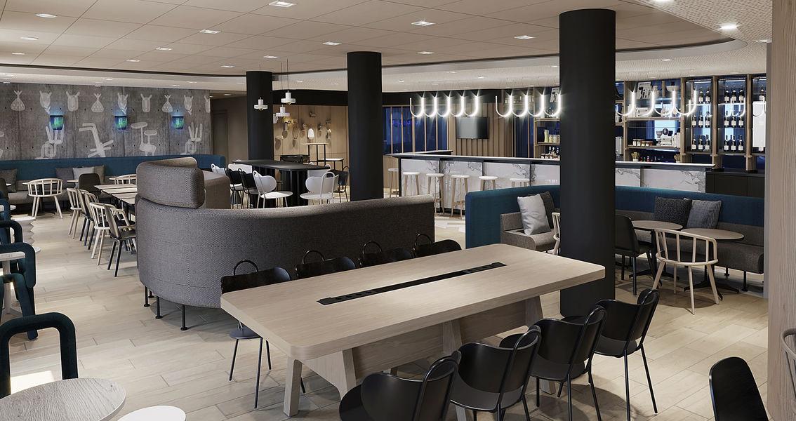 Novotel Saint Etienne Centre Gare **** Espace lifestyle