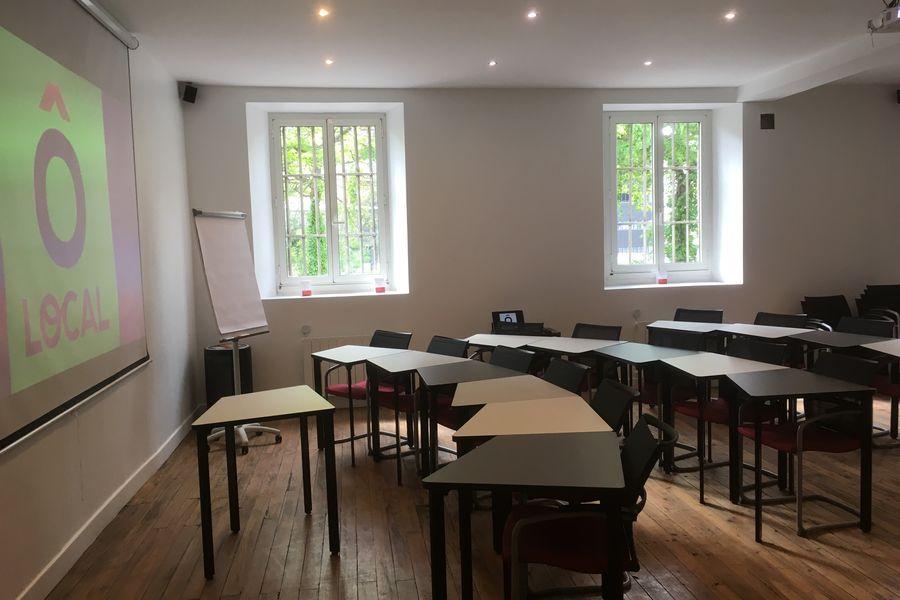 Ô Local Salle de conférence - 60 personnes - salle de classe