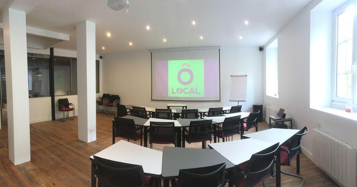 Ô Local Salle de conférence - 60 personnes