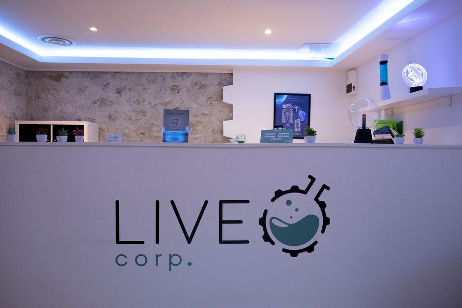 LIVE Corp Espace d'accueil de l'escape game Unity à Montpellier