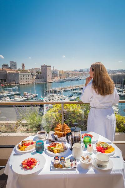 Sofitel Marseille le Vieux Port ***** Chambre avec terrasse