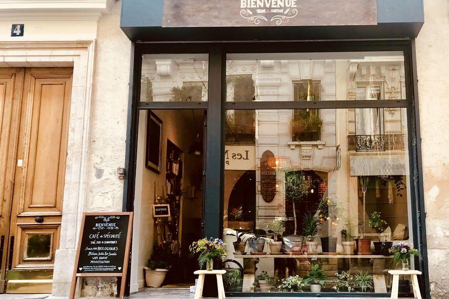 Café Bienvenue Café Bienvenue vu de l'extérieure