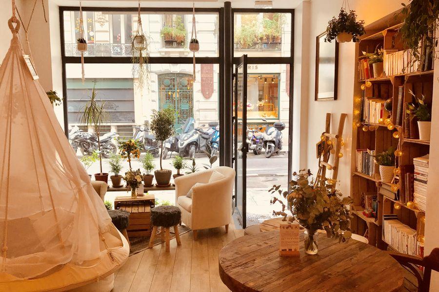 Café Bienvenue L'entrée du café