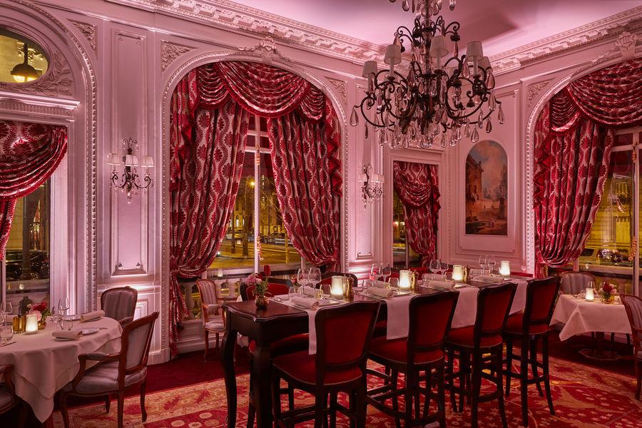 Hôtel Raphael Paris ***** Restaurant, soir