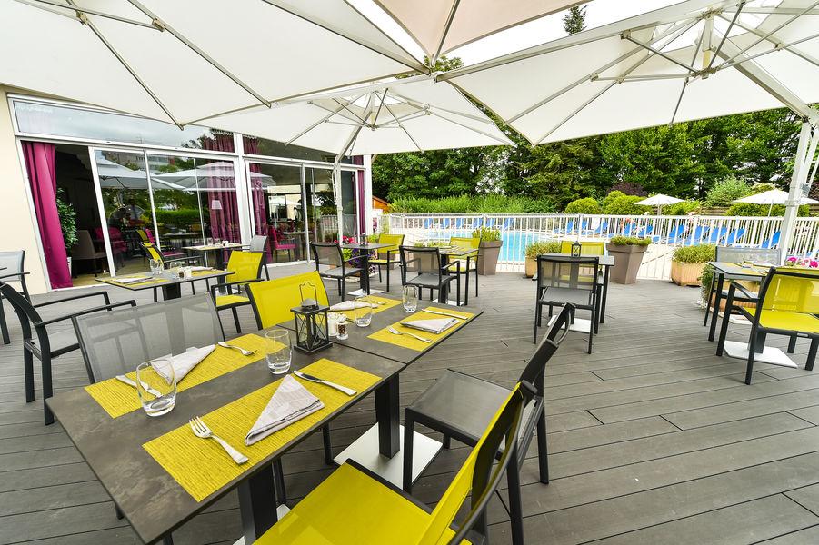 Mercure Beaune Centre **** Terrasse côte restaurant
