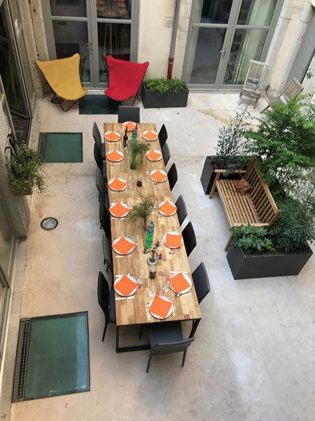 L'Imprimerie du Second L'Imprimerie du Second / repas sur la terrasse
