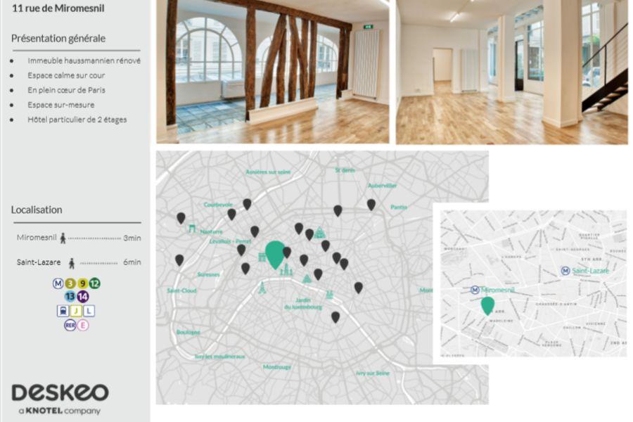 Le Loft Le Loft de Miromesnil - Description