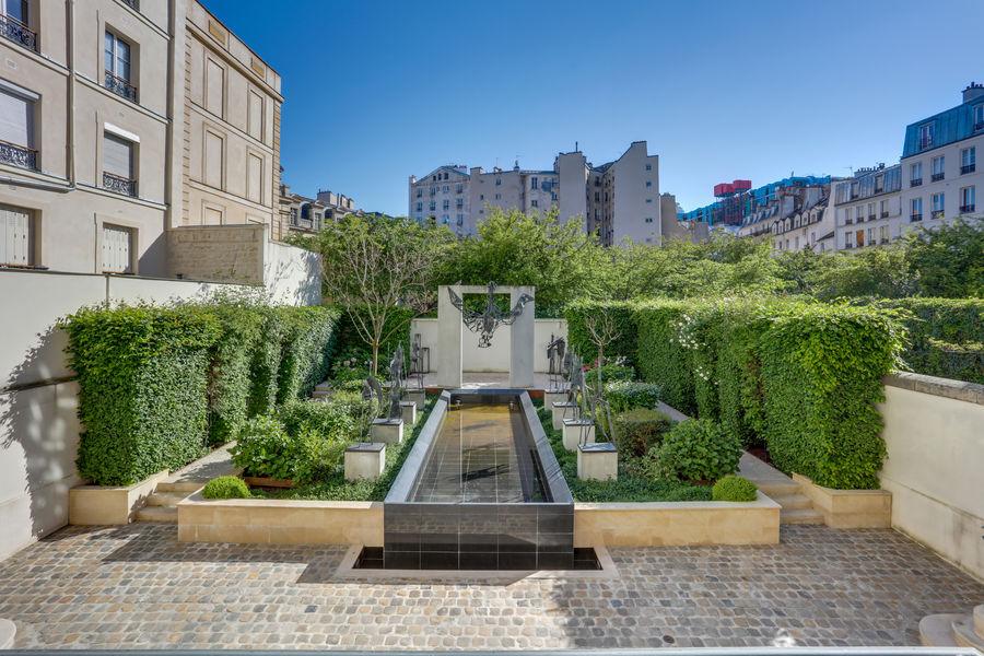 L'Hôtel Beau Brun Deskeo Beaubrun - Jardin intérieur