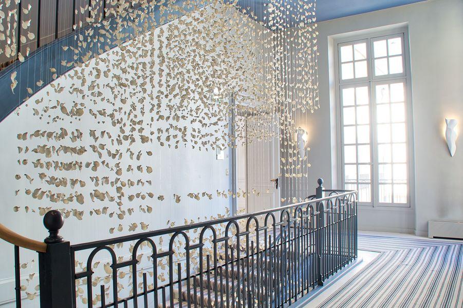 L'Hôtel Beau Brun Deskeo Beaubrun - Escalier d'honneur