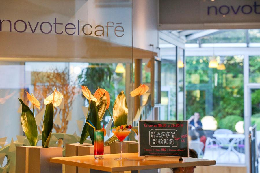 Hôtel Novotel Poissy Orgeval Entrée Restaurant